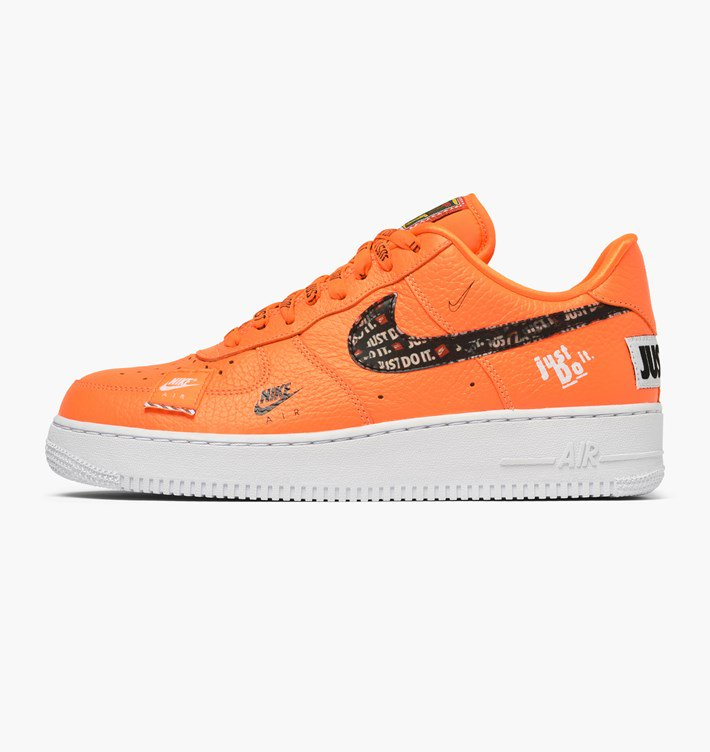 The Nike Air Force 1 Low Just Do It Orange 2
